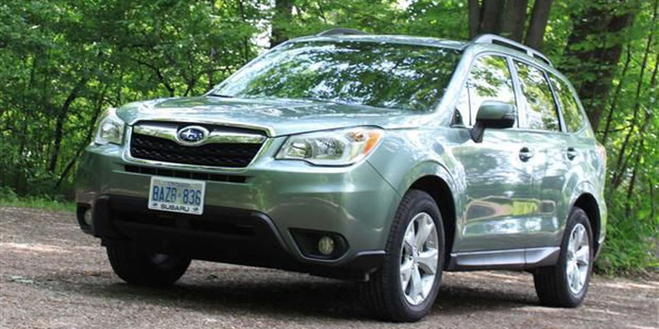 2014 Subaru Forester front