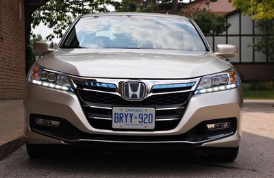 2014 Honda Accord Plug-In Hybrid.