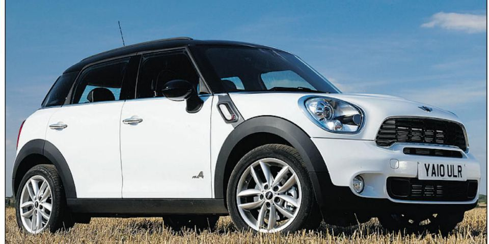 The BMW Countryman Mini has lots of Mini DNA.