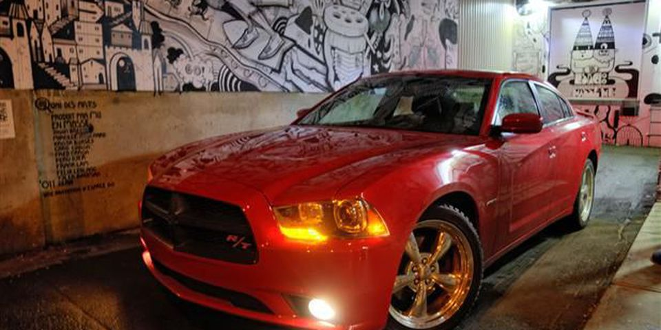 2012 Dodge Charger front