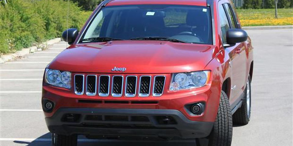 2012 Jeep Compass front