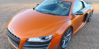 """Our reviewer made a lot of new """"friends"""" when he parked this 2012 Audi R8 GT in front of his house."""