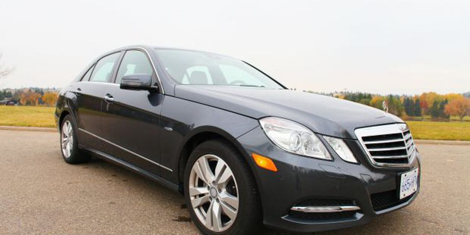 The E300 4Matic is the benchmark for luxury vehicles in Canada.