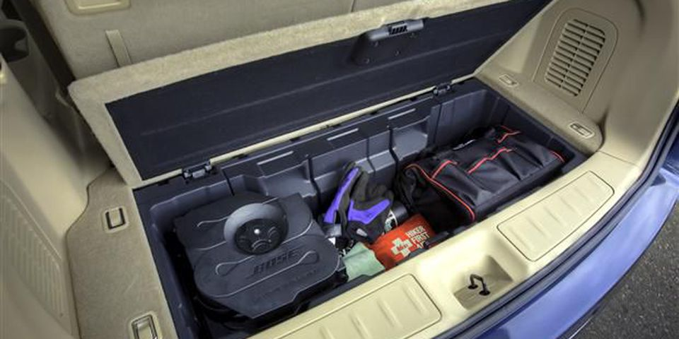 Nissan Pathfinder storage
