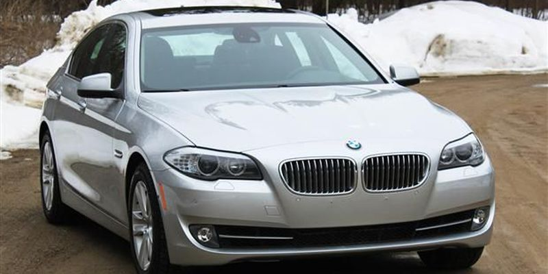 2012 BMW ActiveHybrid5 front