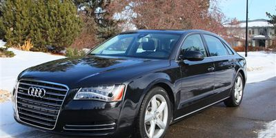 The 2013 Audi A8L manages to be luxuriously roomy and sporty.