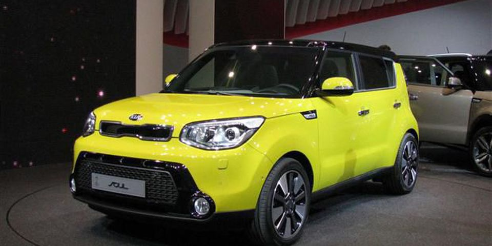 Kia's second-generation Soul was revealed in Frankfurt.