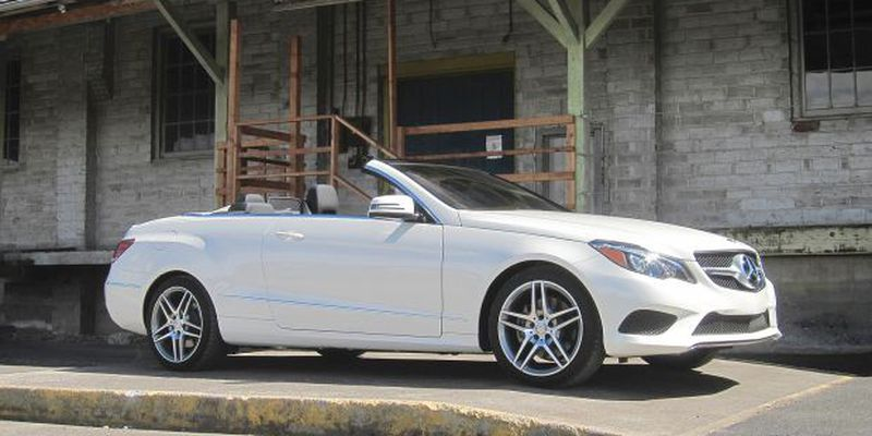 The E-Class cabriolet provides an invigorating, fresh air motoring experience while managing to maintain a relatively turbulence-free cabin.