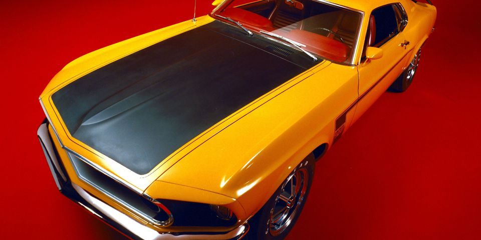 1969 Ford Mustang Boss 302 in Schoolbus Yellow