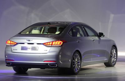Launch Of Hyundai Motor Company's All-New Genesis In Seoul