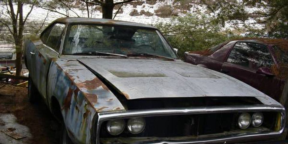 Rotting muscle cars for sale on Craigslist