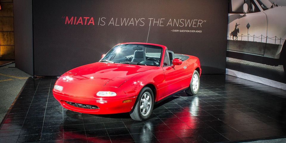 The Mazda Miata at 25