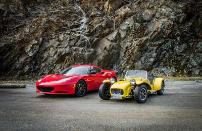 Respect your elders: 1969 Lotus Seven vs. 2014 Lotus Evora S