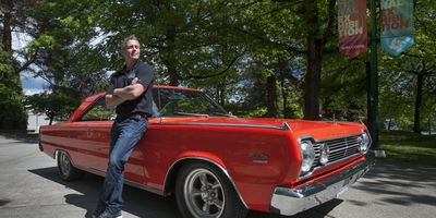 Promo shot for 2014 Vancouver Collector Car Show & Auction