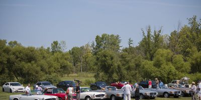 Mercedes-Benz Club of America meet