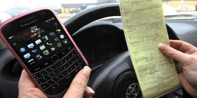 Distracted driving ticket