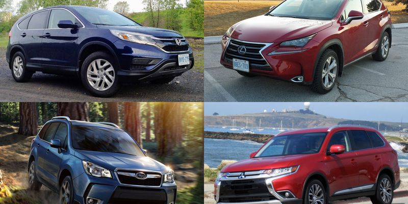 Top 10 fuel-efficient compact crossovers