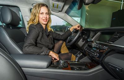 Women at the Wheel profile- Kim Lamont
