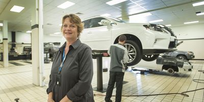 Women at the Wheel profile of Anke Minty