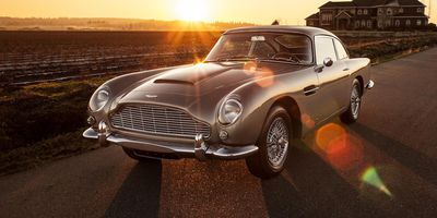 Aston Martin at Bonhams Scottsdale
