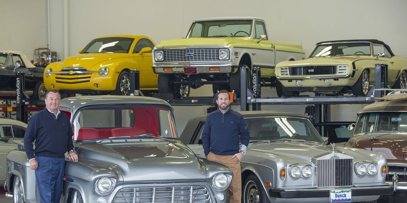 Legendary local dealer owns quite a collection of Barrett Jackson auction cars