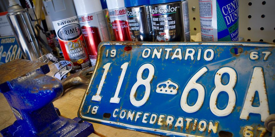 YOMplates.ca plate collection and restoration