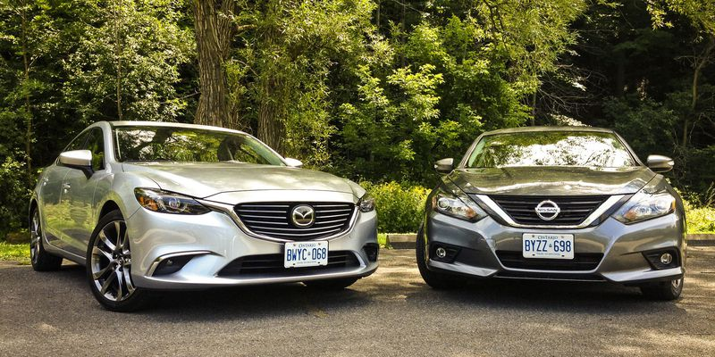 2016 Mazda6 vs. 2016 Nissan Altima