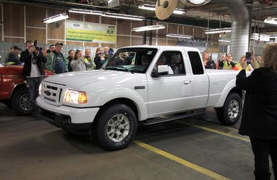 The Last Ford Ranger Pickup Truck Built in North America