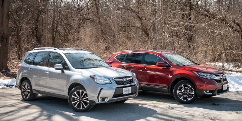 2017 Subaru Forester XT Touring vs. 2017 Honda CR-V Touring