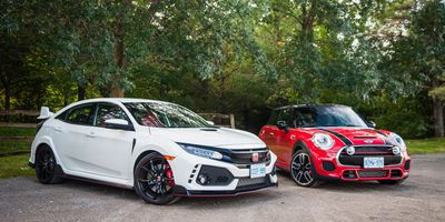 2017 Honda Civic Type R vs. Mini Cooper JCW 3 Door