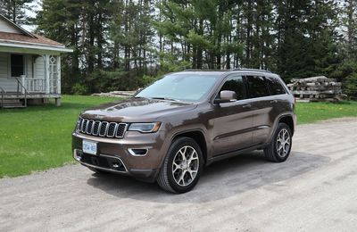 2018 Jeep Grand Cherokee Sterling EditionJIL MCINTOSH / DRIVING.CA