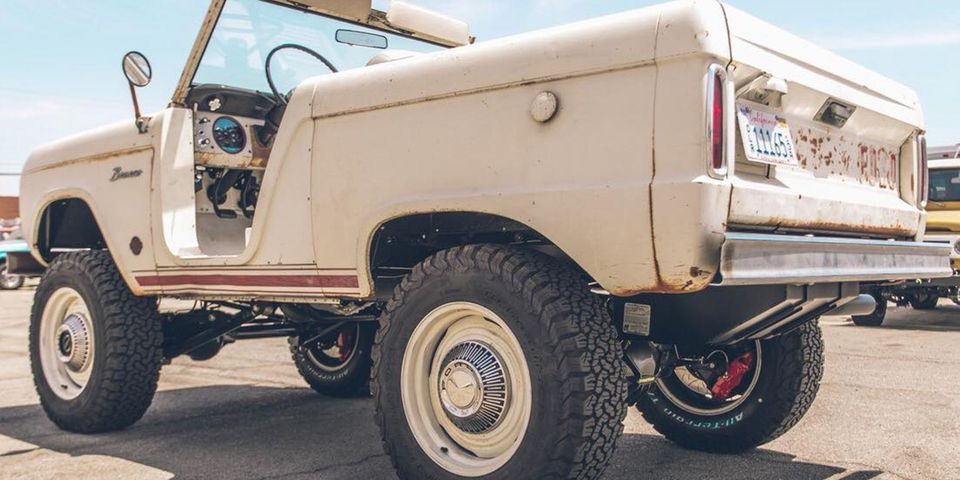 1966 Ford Bronco ICON Derelict