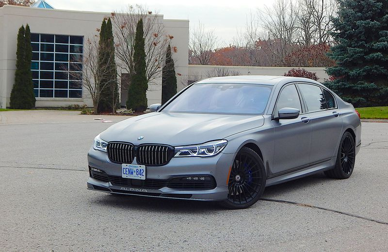 2019 BMW Alpina B7 Exclusive Edition