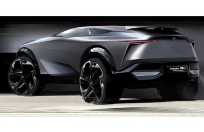 Nissan IMQ -TEASER Concept car sketch-source