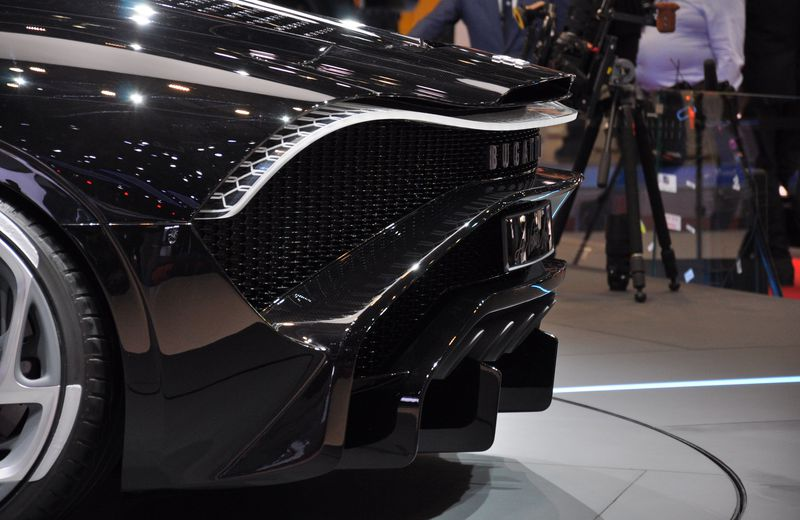 And because we couldn't get enough of the, here is another look at the Bugatti Voiture Noire LED tail lights