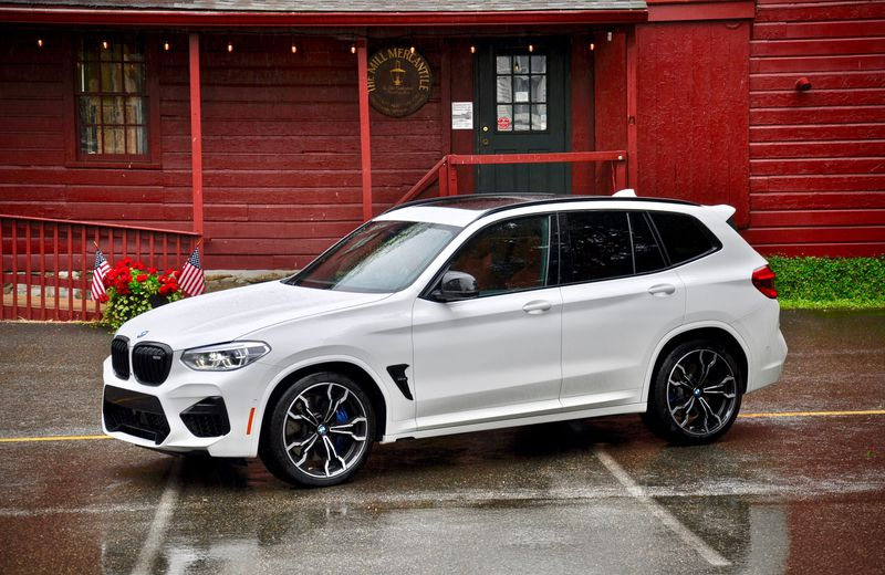 First Drive 2020 Bmw X3 M X4 M Competition Driving
