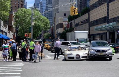 Tracy morgan new Bugatti damaged in new york