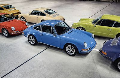 Dutch company releases run of 36 electric-converted 911s - 1