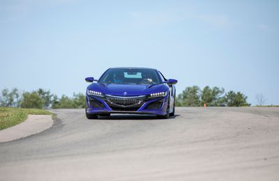 2019 Acura NSX Track Test