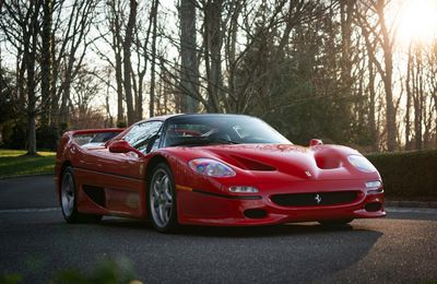 First production prototype Ferrari F50 supercar heading for sale - 1