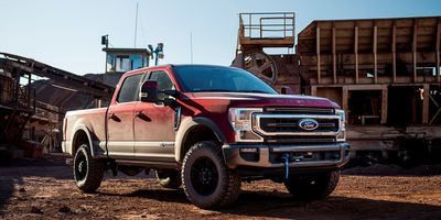 The 2020 Ford Super Duty with Warn winch