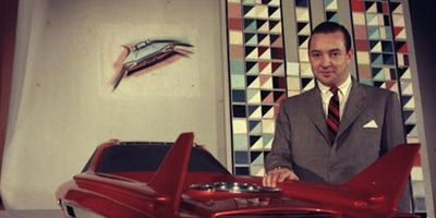 The 1958 Ford Nucleon, which never got beyond a small-scale model