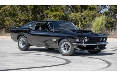 1969 Ford Mustang Boss 429 Fastback Paul Walker