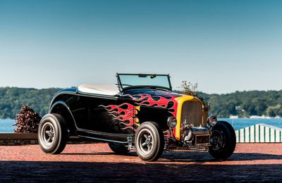 Tom McMullen 1932 Ford Hot Rod