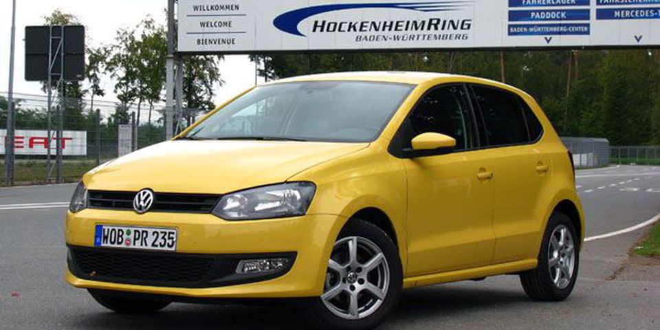 2010 Volkswagen Polo Highline 1.6L TDI.