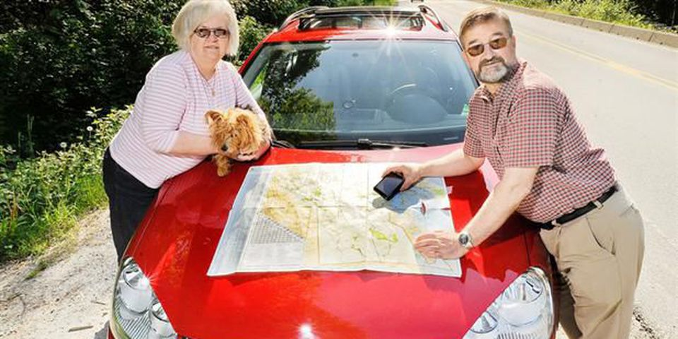 Don and Betsy Cayo are driving to BC from Canada's East Coast this summer.