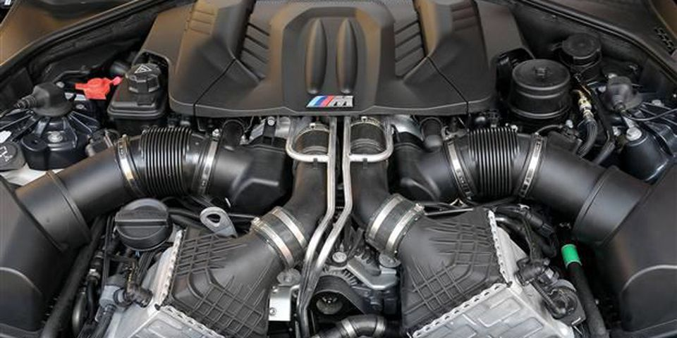 The turbo power in the 2012 BMW M5 is monstrous, but the penalty is sound.