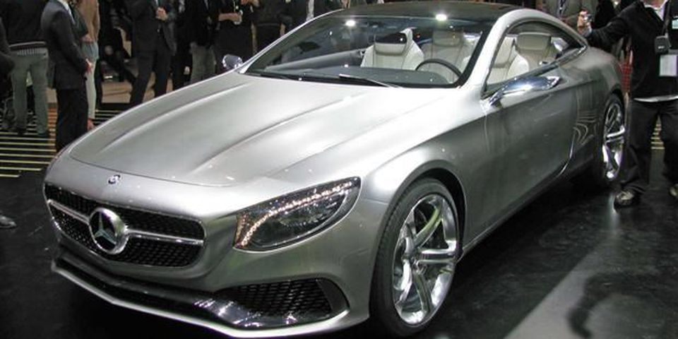 The Mercedes-Benz S-Class Coupe was seen for the first time at the 2013 Frankfurt Motor Show.