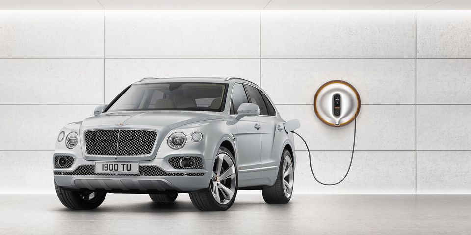 The 2019 Bentley Bentayga Plug-In Hybrid