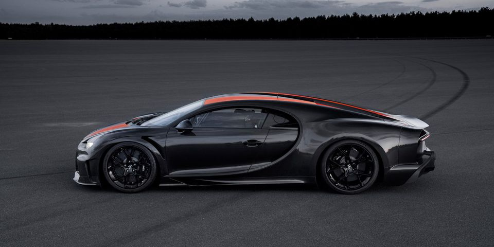 The Bugatti Chiron Super Sport 300+